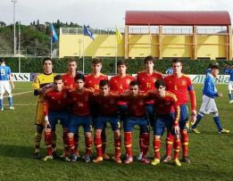 La Selección Sub-17 gana a Italia (0-1) en un amistoso en Florencia