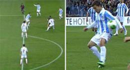 En el 0-1, fuera de juego de Alves y el 1-1 mano de Seba