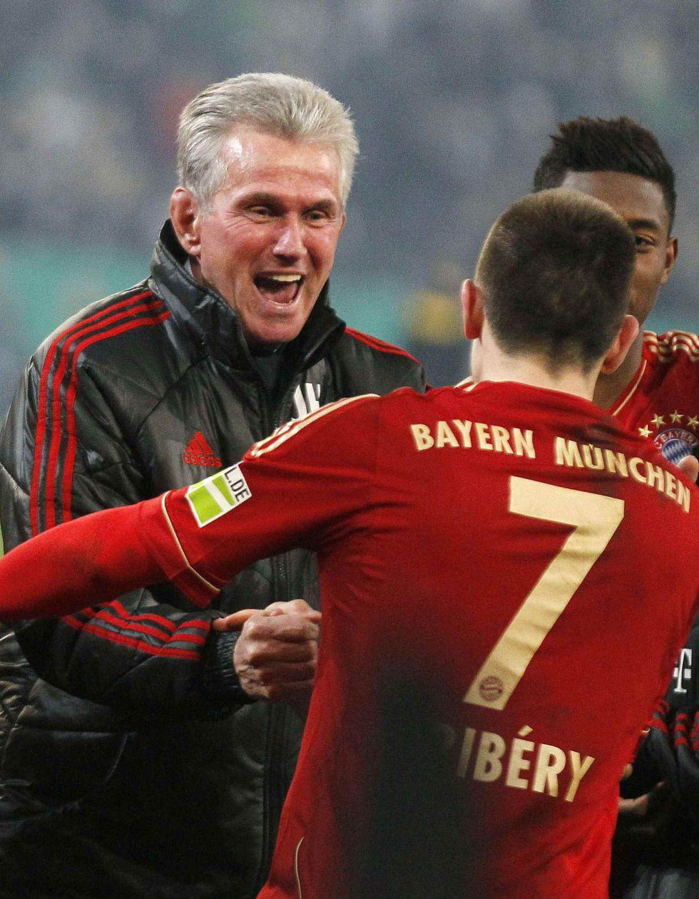 """Ribery: """"Heynkes es un entrenador maravilloso"""""""