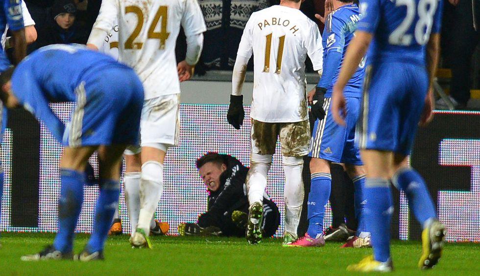 Agresión de Hazard: El Swansea niega órdenes al recogepelotas