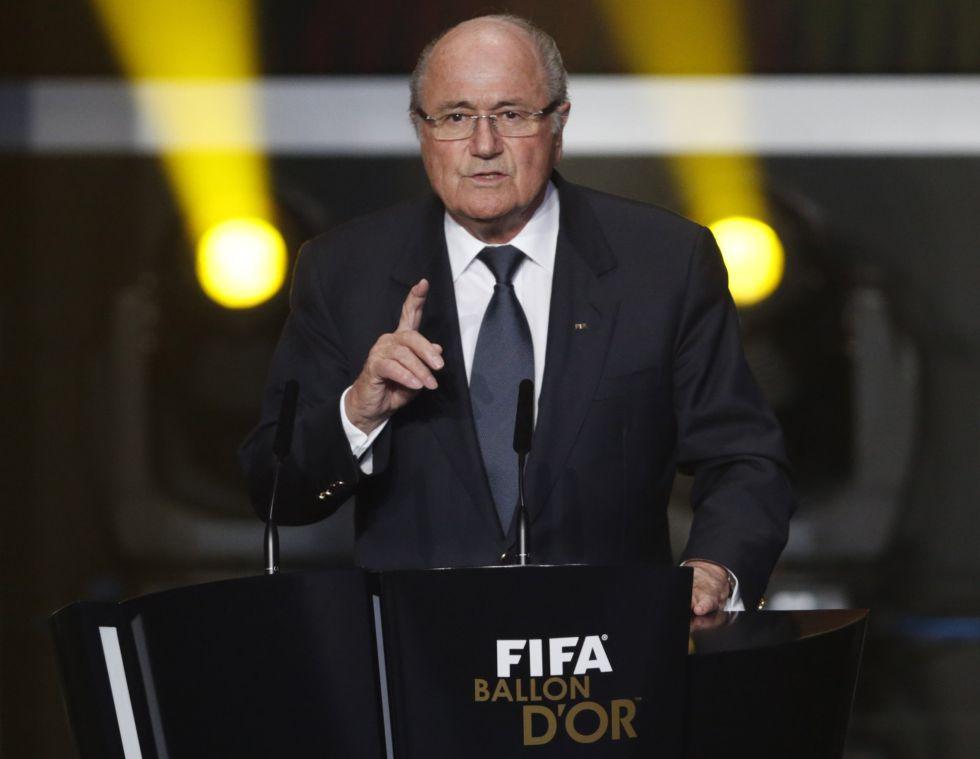 """Blatter: """"Messi es el mejor futbolista del mundo"""""""