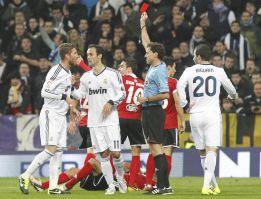 Ramos no puede jugar la ida de las semifinales de Copa del Rey