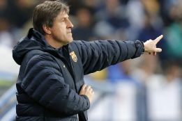 "Roura: ""Messi estaba cargado pero no creo que sea grave"""
