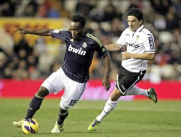 Essien-Varane-Albiol-Arbeloa, probable defensa ante el Barça