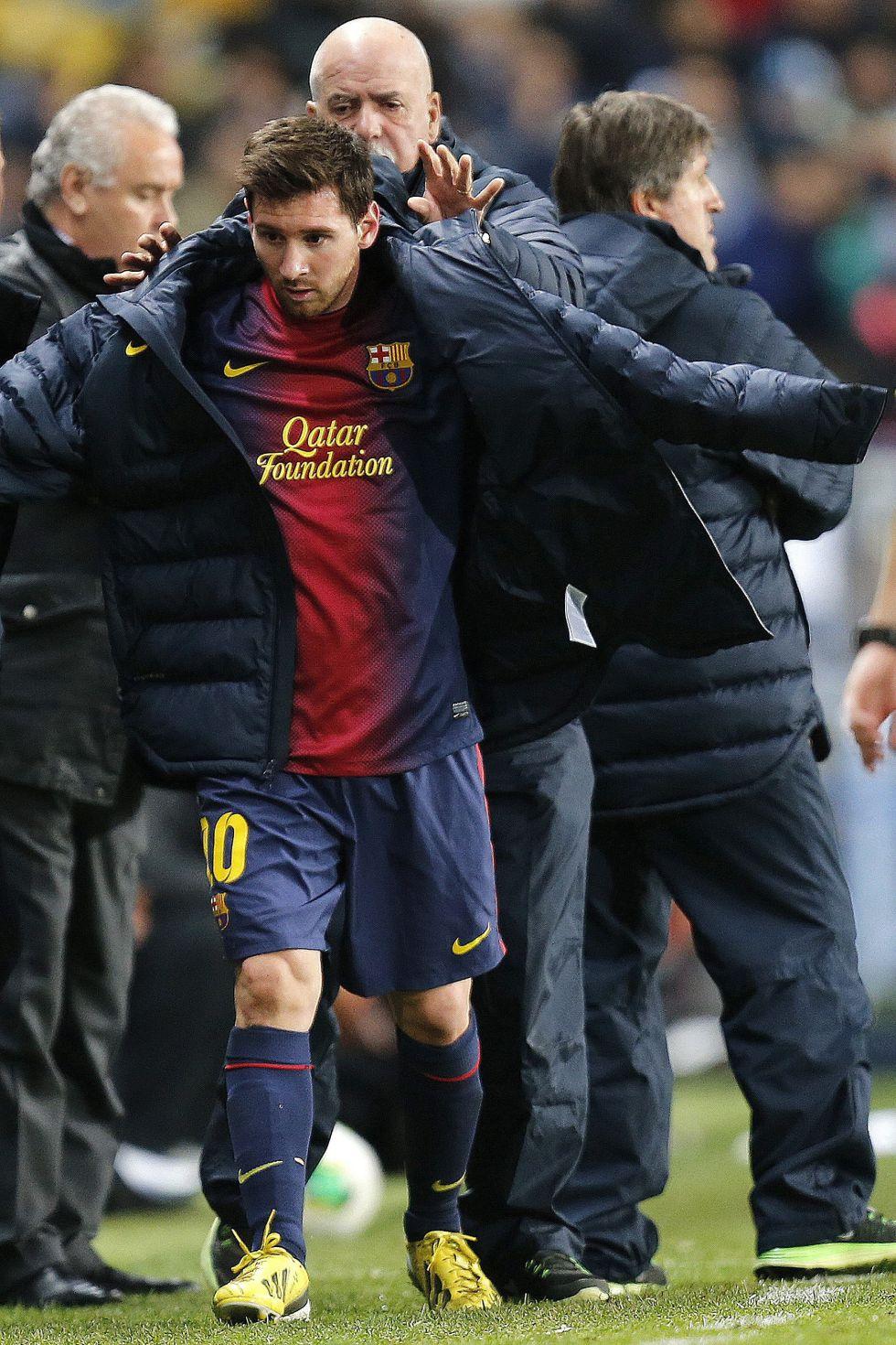 Messi piensa en Madrid: podría ser suplente ante Osasuna