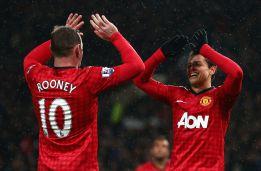Chicharito hace un doblete en la goleada del United al Fulham