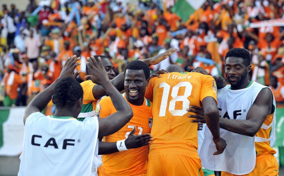 Costa de Marfil se asienta en el liderato a costa de Túnez