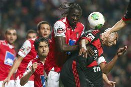 El Benfica, líder provisional tras ganar al Braga por 1-2