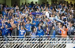 Quinientos hinchas arroparán al Getafe en el Santiago Bernabéu