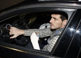 Casillas recibe el alta médica