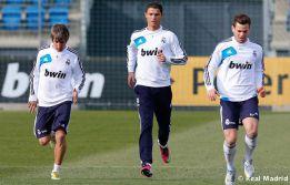 Última sesión del Madrid antes de recibir mañana al Getafe