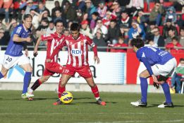 El Girona decide cerca del final