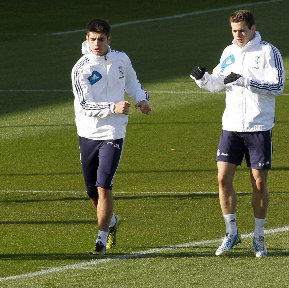 Morata y Nacho, al Miniestadi con el Real Madrid Castilla