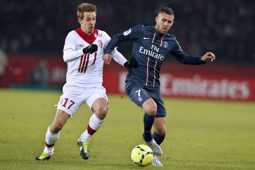 El París Saint Germain conserva el liderato tras ganar al Lille