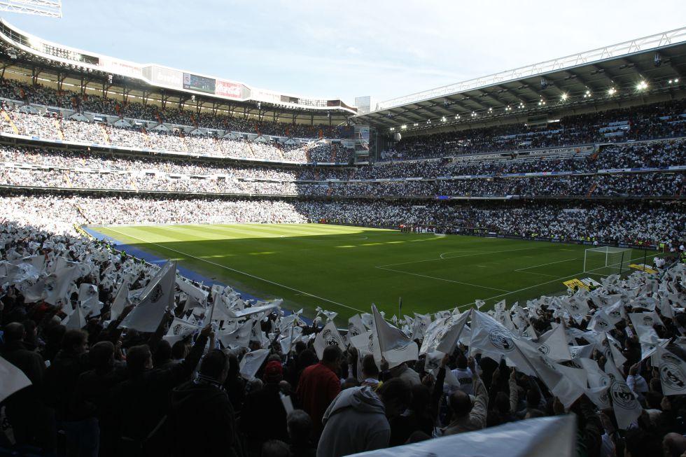 El Real Madrid golea por la mañana en el Santiago Bernabéu