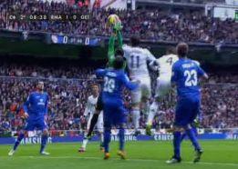 El Getafe pidió falta de Carvalho a Moyá en el gol de Ramos