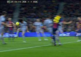 Teixeira expulsó a Arribas en el 26' por dos manos en 10 minutos