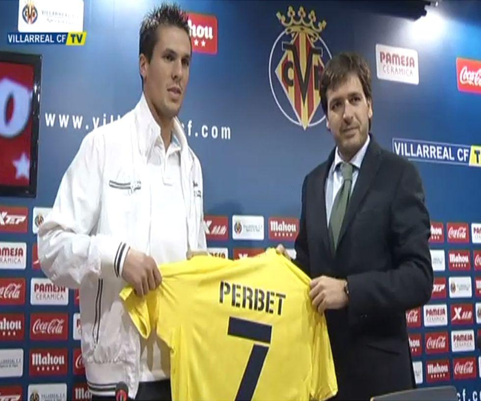 """Perbet: """"Estoy muy feliz y vengo con idea de quedarme"""""""