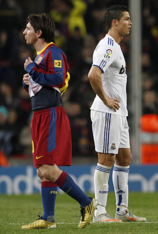 Cristiano Ronaldo y Leo Messi están ahora como dos motos