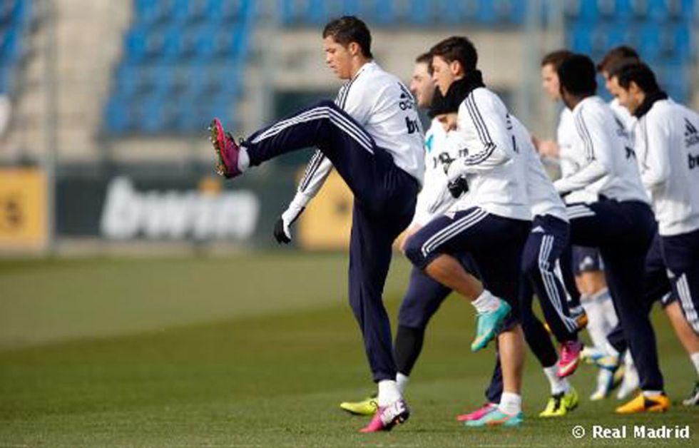El Real Madrid llega al clásico sin entrenar en grupo