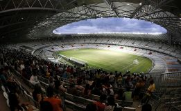 Manaus, el estadio que más retraso lleva en las obras