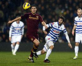El Manchester City empata sin goles en su visita al QPR