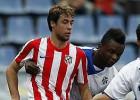 El Atlético cede a Pedro, jugador del filial, al Numancia