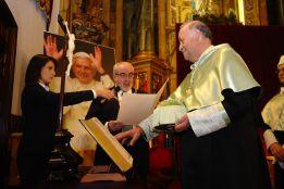 Del Bosque, Doctor Honoris Causa por la Católica de Murcia