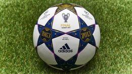 El balón de la final homenajea al mítico estadio de Wembley