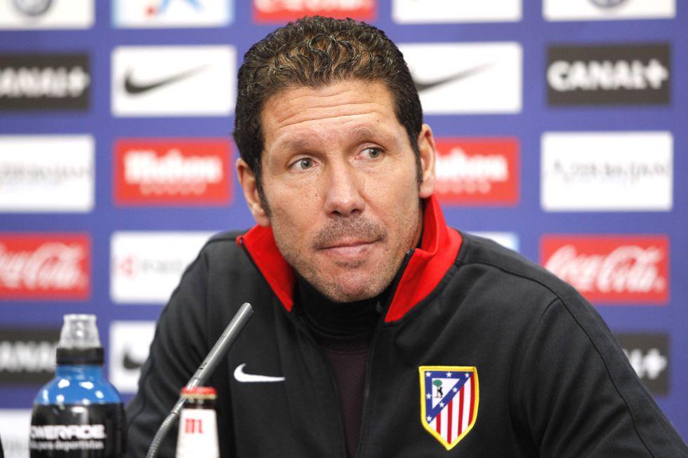 """Simeone: """"Es un partido especial y necesitamos a la afición"""""""