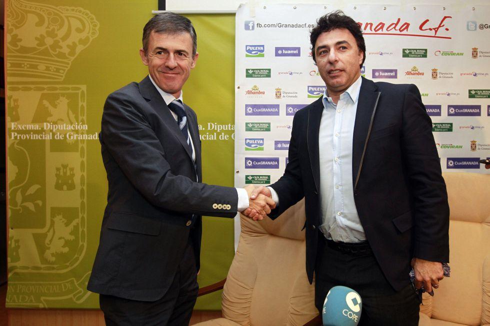 Alcaraz, nuevo técnico del Granada: Anquela, destituido