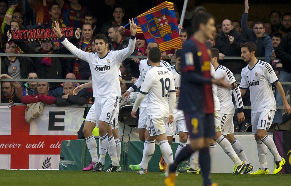 Álvaro Morata se asienta como el ariete que necesita el Castilla