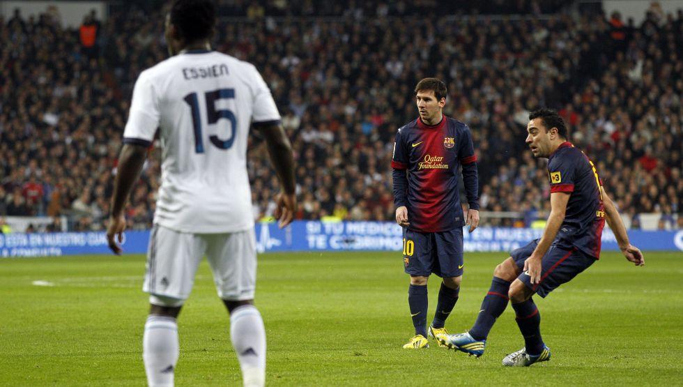"""Xavi: """"El gol del empate llegó en un córner que no era"""""""