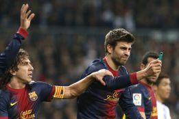Carles Puyol dio una lección de 'fair play' a Gerard Piqué