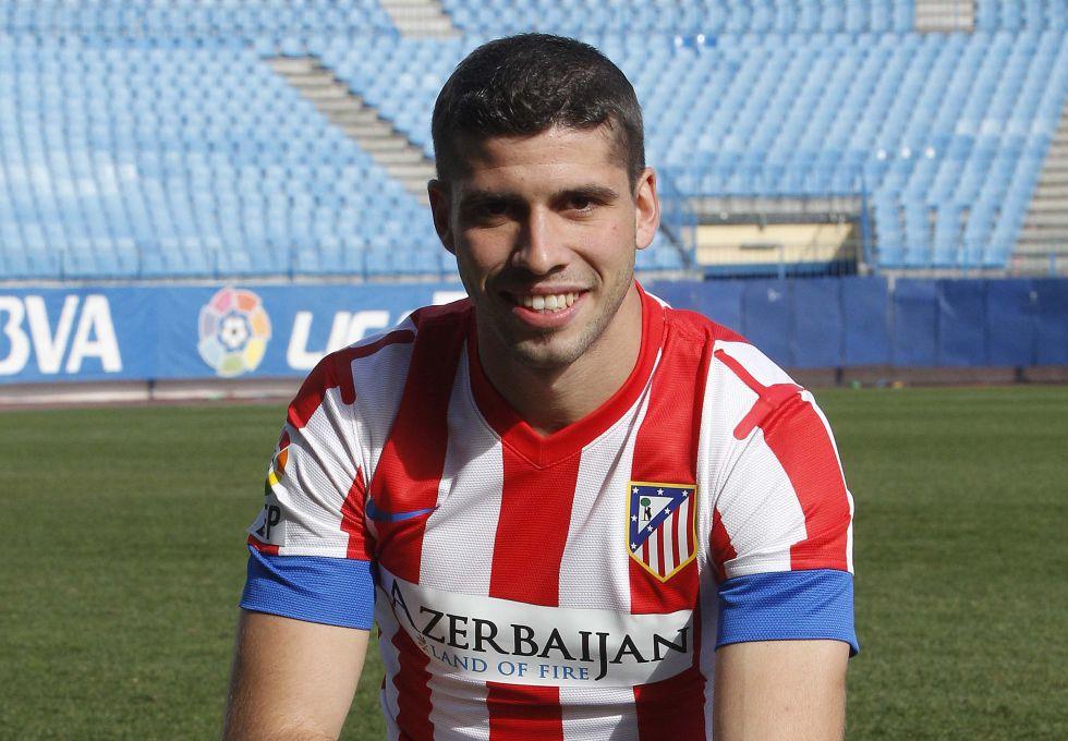 """Insúa: """"Soñé con un grande y el Atlético es como Boca"""""""