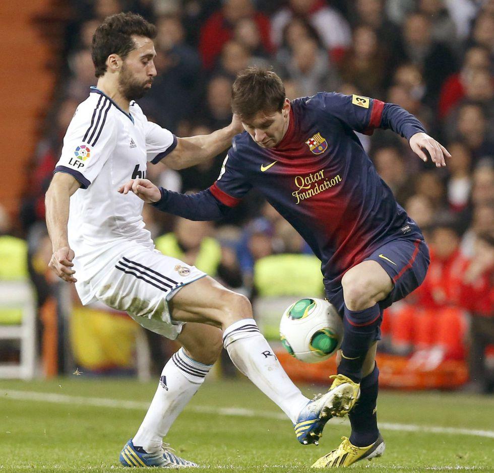 Messi se encaró con Arbeloa y Karanka al terminar el Clásico