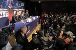 """""""Bonjour"""": el PSG presenta a lo grande a David Beckham"""
