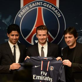 """Bonjour"": PSG unveil David Beckham as latest signing"