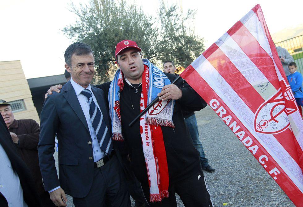 Alcaraz sustituye a Anquela y debutará contra el Madrid