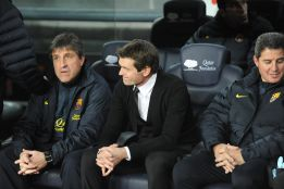 Vilanova estará ausente también ante el Valencia