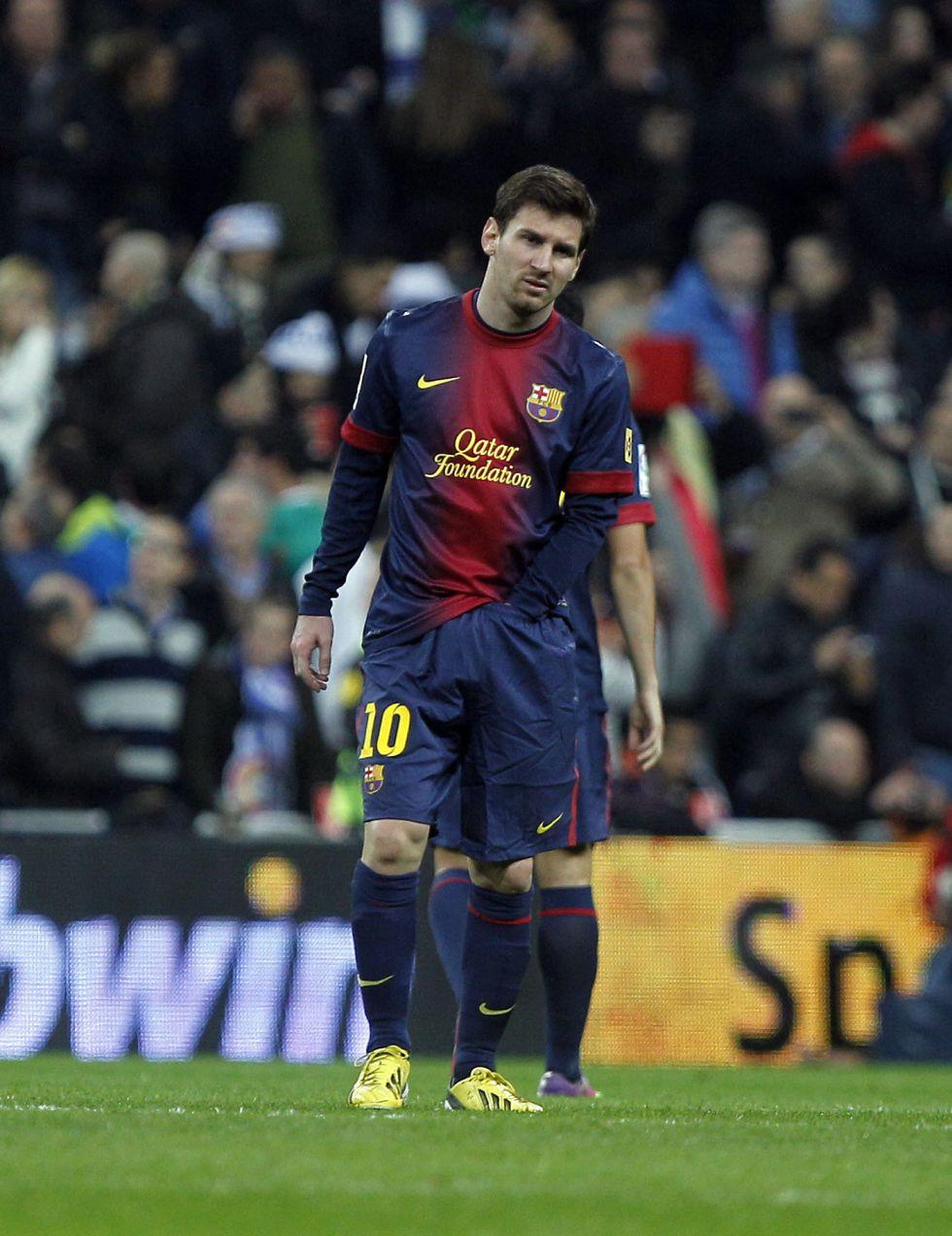 """Messi: """"Fue un partido duro, como todos ante el Madrid"""""""