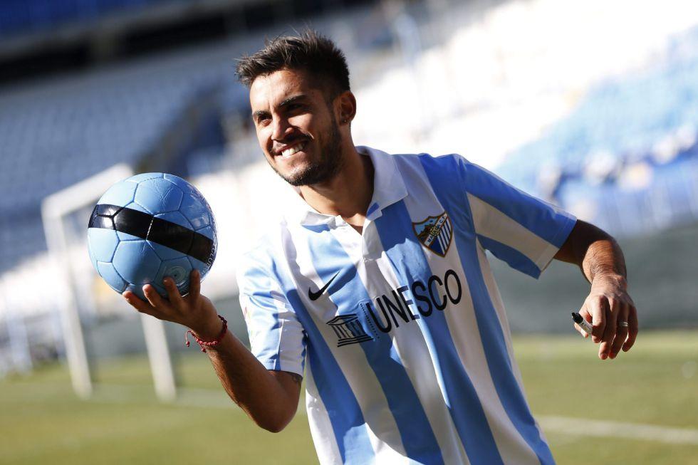 """""""Vengo con expectativas de estar más tiempo en el Málaga"""""""