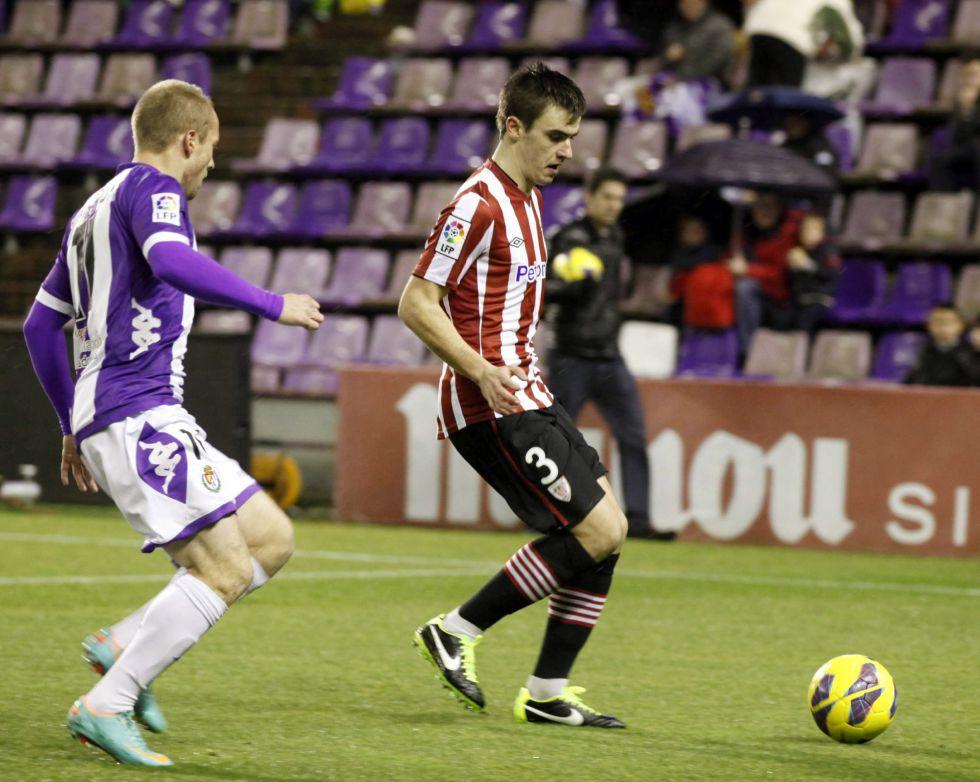 Valladolid y Athletic empatan a fútbol y a goles en Zorrilla