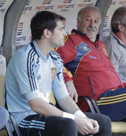 Vicente del Bosque le guarda el puesto a Iker Casillas