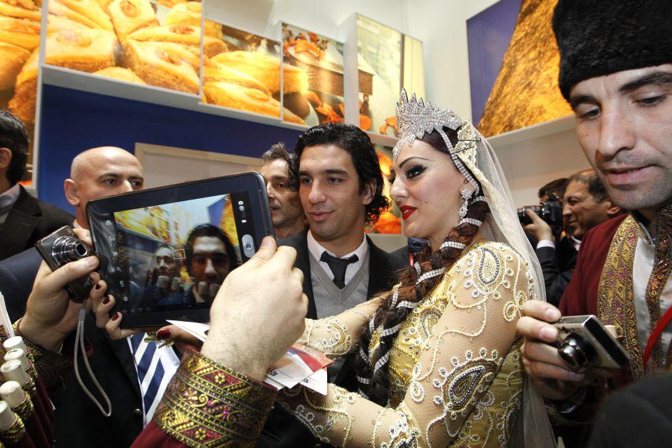 El Atlético de Madrid revolucionó la Feria del Turismo