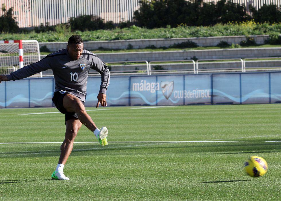 Baptista entra en una lista del Málaga tras 15 meses lesionado