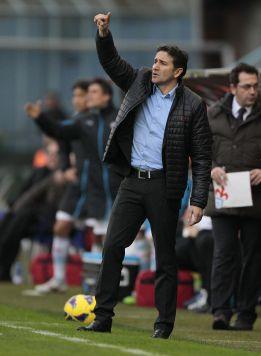 """Montanier espera un """"partido cerrado"""" frente al Mallorca"""