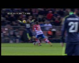 El Granada reclamó la segunda amarilla para Luka Modric