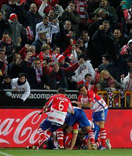 El Granada llevaba 39 años sin ganar al Real Madrid