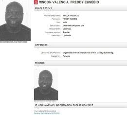 La Interpol busca a Rincón